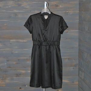 Women's Black Converse Short Sleeve Dress, S